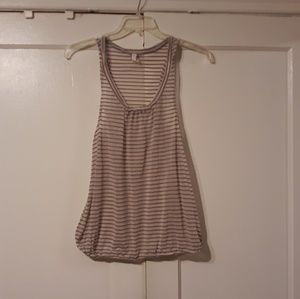 Free People Striped Tank Large